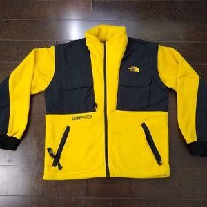 The North Face | Yellow Black Fleece Jacket